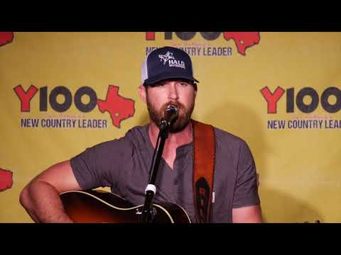 "Riley Green ""Numbers On The Cars"" acoustic Live at Y100 August 16, 2018"