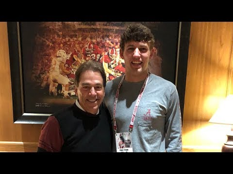 Alabama Signs Bear Bryant's Great-Grandson | Stadium