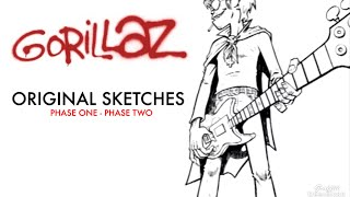Gorillaz - Original Sketches