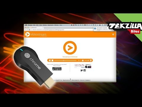 VideoStream For Google Chromecast Streams Any Video To The Big Screen