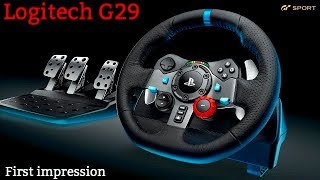 GT Sport - Logitech G29 (First Impressions & Race Commentary)