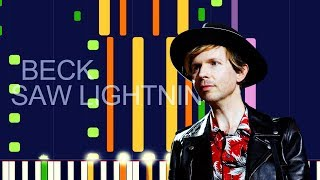"""Beck   SAW LIGHTNING (PRO MIDI REMAKE)   """"in The Style Of"""""""