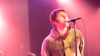"Beady Eye (Liam Gallagher) - ""Wigwam"" live from Showbox, Seattle - 11-30-2011"