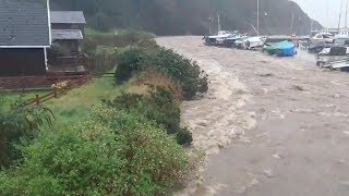 video: UK weather: Major incident declared as village floods amid rain storms