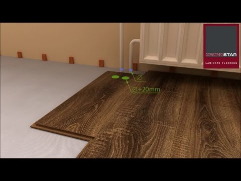 How to lay laminate technology