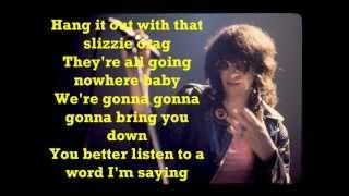 Joey Ramone-Going Nowhere Fast [Lyrics]