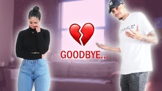 BREAKING UP WITH MY GIRLFRIEND BEFORE VALENTINES DAY... **PRANK**