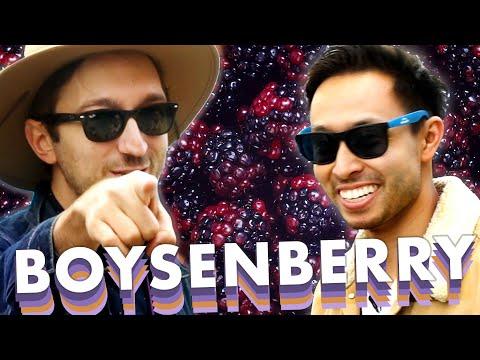 Ryan and Shane Eat Everything Boysenberry At Knott's Berry Farm