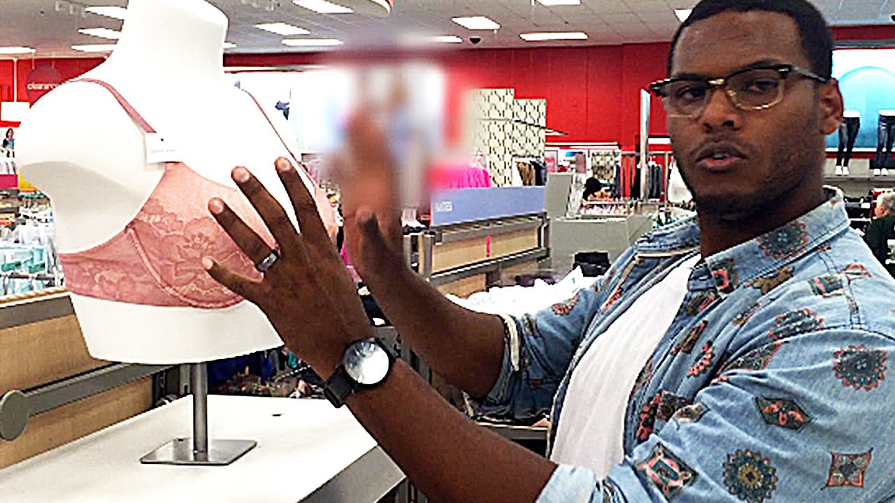 Husband Goes Bra Shopping For His Pregnant Wife thumbnail