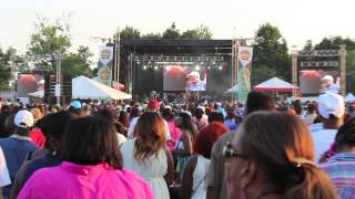Beres Hammond' Live on stage Roy Wilkins Park NYC,JUNE. 29 14