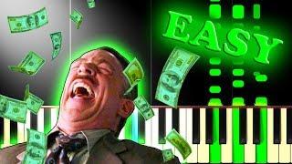 ABBA - MONEY MONEY MONEY - Easy Piano Tutorial