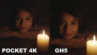 Blackmagic Pocket 4K ISO Test vs Panasonic GH5