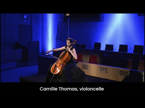 11 avril 2015 - Camille Thomas, violoncelle - Conseil National, Monaco