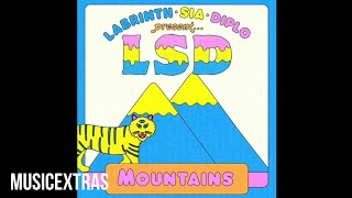 LSD - Mountains (Audio) ft. Sia, Diplo, Labrinth