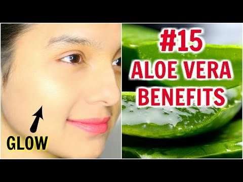 Video #15 Skincare Benefits & Uses Of ALOE VERA | PrettyPriyaTV