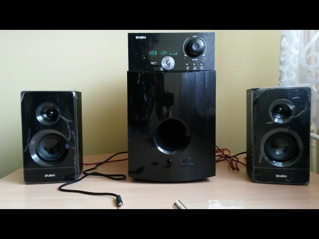 Sven MS 2100 test głośników
