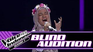 Cinta - Smells Like Teen Spirits   Blind Auditions   The Voice Kids Indonesia Season 3 GTV 2018