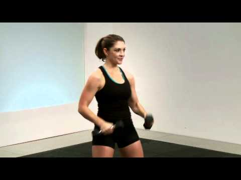Dumbbell Alternating Air Punches