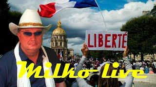 Macron i Biden a odpowiedzialność moralna. Granica rozumu. liberté française. Pogotowie G7. 23.08.21