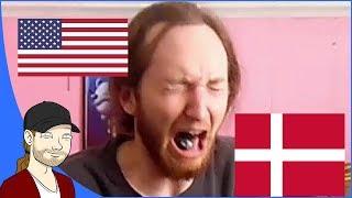 American Tries Danish Candy