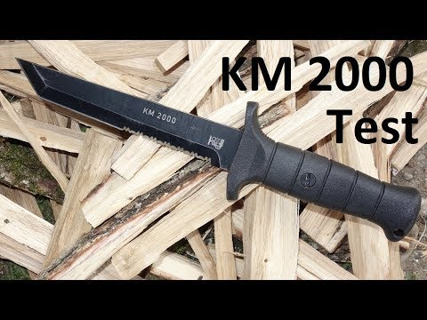 Eickhorn KM2000 Test/Review - Ist es ein gutes Soldatenmesser/Outdoortool?