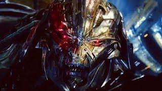 Transformers: The Last Knight - Optimus Prime vs. Megatron & Quintessa | Final Battle 1080p