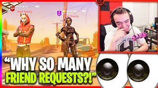 He Figured Out I Was Streaming... Squads with SXVXN! (Funny Random Duos)
