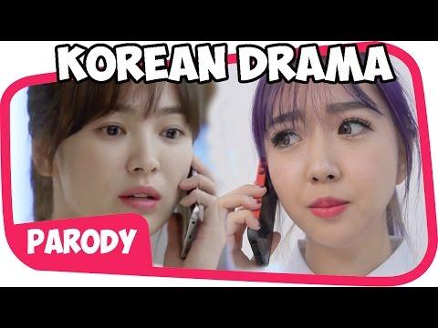 Parodi drama korea collab with sunny dah ye