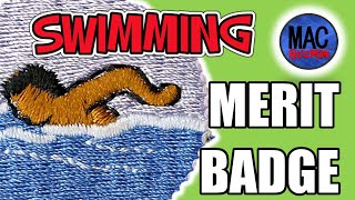 How To Get Swimming Merit Badge - My First Winter Camp At La-No-Che