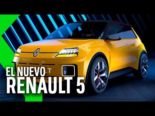 El RENAULT 5 VUELVE...100% ELÉCTRICO y a un PRECIO MUY ASEQUIBLE