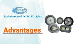 【Video】The advantages of THT-EX's explosion-proof AC IN LED lights. (Various reliability testing)