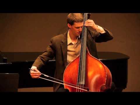 Double Bass Concerto, Op.3, Mvt. II by Serge Koussevitzky Filmed by Don Ptashne (www.laphotopro.com)