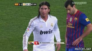 5 Red Cards vs One Club | Sergio Ramos