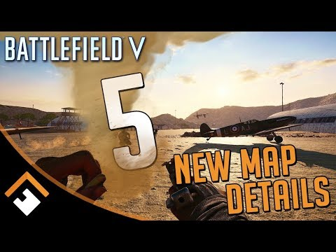 Dust Buster: 5 Details on Battlefield V's New Al Sundan and Marita Maps!
