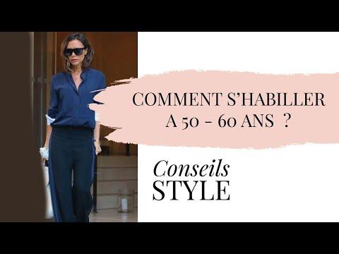 Comment s'habiller à 40-50 ou 60 ans ? Update vidéo 2