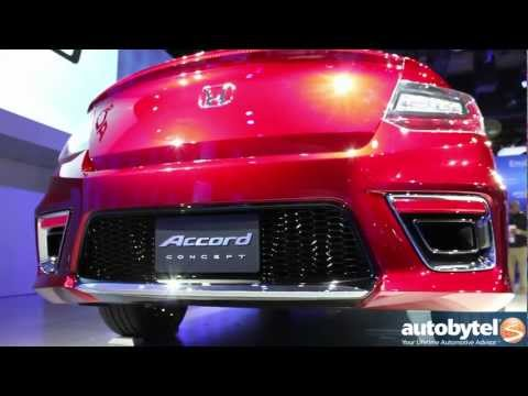 Honda Accord concept at the 2012 Detroit Auto Show