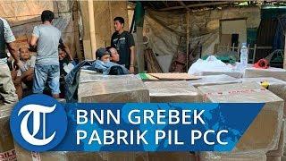 BNN Bersama Polri Grebek Pabrik Pil PCC di Cilacap dan Tasikmalaya