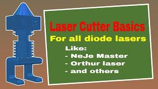 ▼ Neje Master and Orthur Laser Focus | BASICS of your Neje Master or Orthur Laser cutter
