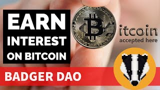 Earn Yield on Your Bitcoin | Defi Yield Mining Tutorial | Easiest Way to Get Started | $BADGER $BTC