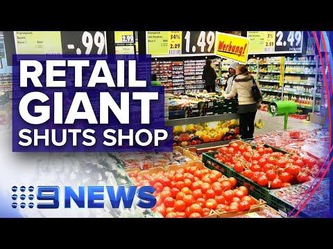 Supermarket giant pulls the plug on Australia   Nine News Australia