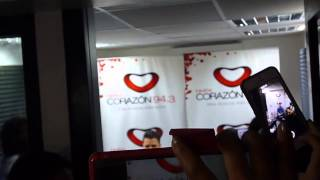 Dani Martín en Radio Corazón (Cero, Emocional, Estrella de Rock)