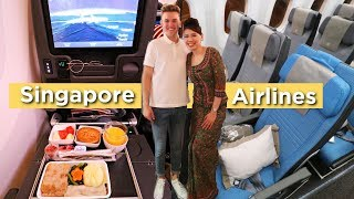 OMG... THE WORLD'S BEST ECONOMY CLASS | Singapore Airlines 787 10 And A350 Review