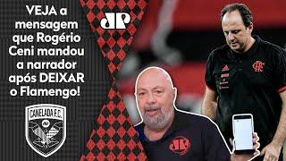 Exclusivo! Nilson Cesar exibe mensagem de Rogério Ceni, ex-técnico do Flamengo