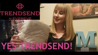 My FAVORITE BOX ever! | December Trendsend | Unboxing & Try-On #Trendsend #Evereve