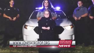 Jonesboro FOP sells Calendars for Charities