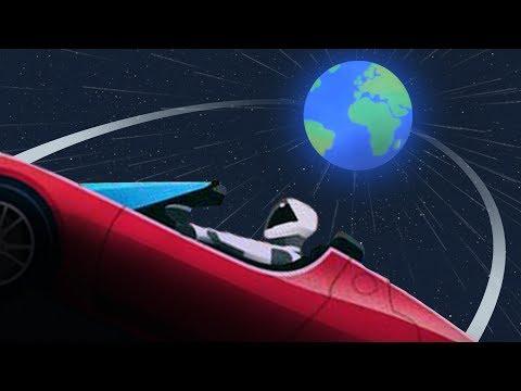 Kdy se Starman v Tesle vrátí zpět k Zemi? - Svět Elona Muska
