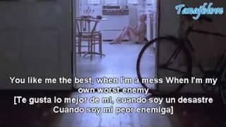 Ashley Tisdale - Me Without You [Lyrics - Traducido Al Español][Jaylor][Joe Jonas//Taylor Swift]