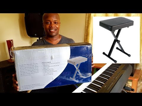 Yamaha PKBB1 Portable Piano Keyboard Bench - Unboxing