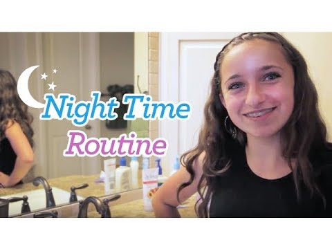 Night Time Routine | Brooklyn and Bailey