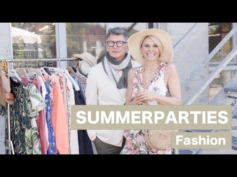 Sommerparty Fashion - Luisa Rossi & Clifford Lilley